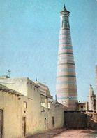 1 AK Usbekistan * Historische Altstadt Von Khiva (Xiva) Mit Dem Minarett Chodja-Islam - UNESCO Weltkulturerbe Seit 1990 - Uzbekistan