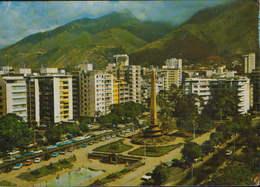 Venezuela - Postcard Circulated 1971  - Caracas - Altamira Square   - 2/scans - Venezuela