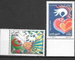 2000 - 1249 + 1252**MNH - - Algérie (1962-...)
