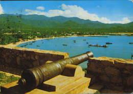 Venezuela - Postcard Circulated 1980  - Margarita Island -  Greek Bay Of John  - 2/scans - Venezuela