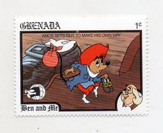 Grenada - 1989 - Francobollo Tematica Disney - Ben And Ale - Nuovo - (FDC11061) - Grenada (1974-...)