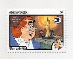 Grenada - 1989 - Francobollo Tematica Disney - Ben And Ale - Nuovo - (FDC11062) - Grenada (1974-...)