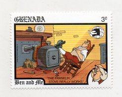 Grenada - 1989 - Francobollo Tematica Disney - Ben And Ale - Nuovo - (FDC11063) - Grenada (1974-...)