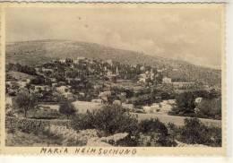 JERUSALEM UMGEBUNG  MARIA HEIMSUCHUNG  PHOTO PC - Israel