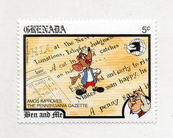Grenada - 1989 - Francobollo Tematica Disney - Ben And Ale - Nuovo - (FDC11065) - Grenada (1974-...)