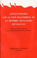 ESPERANTO)  CITATIONS DE MAO TSE TOUNG  50eme ANNEE DE LA REVOLUTION  édition Pékin 30 Pages - Books, Magazines, Comics