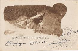 MILITARIA //   Carte Photo   303 EME BRIGADE D INFANTERIE   CAMPAGNE 1914 1915 - Régiments