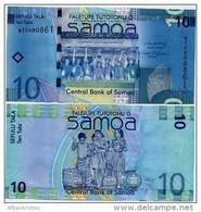 SAMOA        10 Tala        P-39a     ND (2008)     UNC - Samoa