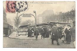 PARIS - Le Métropolitain - La Station Des Couronnes - Arrondissement: 11