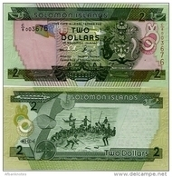 SOLOMON IS.         2 Dollars       P-25       ND (2011)       UNC  [sign. 10] - Salomons