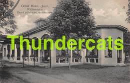 CPA GRAND HOTEL JAVA WELTEVREDEN EETZAAL ZIJAANZICHT MUZIEKKOEPEL - Indonésie