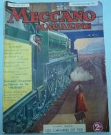 MECCANO Magazine - 1937 - Vol. XIV N°8 - Meccano