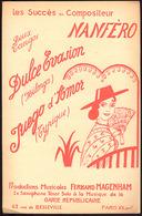 """(09120) Partitions """" Dulce Evasion ; Juego D'amor """".  """" En Baisse """" - Non Classés"""