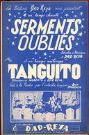 """{09127} Partitions """" Serments Oubliés ; Tanguito """".   """" En Baisse """" - Non Classés"""
