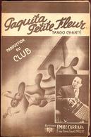 """{09130} Partitions """" Paquita… Petite Fleur ; Lançado """".  """" En Baisse """" - Music & Instruments"""