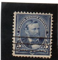 B - 1898 Stati Uniti - Ulisse Grant - Used Stamps