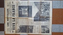 9 MAI 1945 JOURNAL LES NOUVELLES DU MATIN LIBERATION GUERRE GENERAL DE GAULLE VICTOIRE - Documents