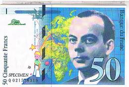 MONNAIES FRANCE BILLET DE 50 FRANCS - Monete (rappresentazioni)