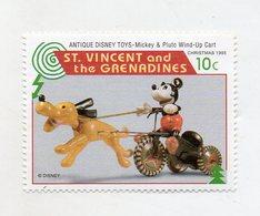 St. Vincent And The Grenadine - 1995 - Natale - Francobollo Tematica Disney - Antique Disney Toys - Nuovo - (FDC11076) - St.Vincent E Grenadine