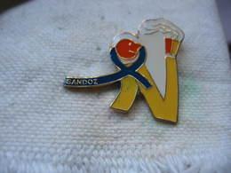 Pin's SANDOZ, Fabricant De Médicaments Génériques - Badges