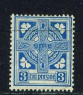 IRELAND  -  1922 To 1934  Definitives  3d  Mounted/Lightly Hinged Mint - 1922-37 Stato Libero D'Irlanda