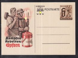 A 27 ) Free Shipping Worldwide  // Germany The Nazi Empire, Postcard German Empire Winter Relief 1941 WHW - Germany