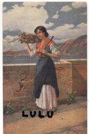 FEMMES 506 : Grappe Douce , Peinture De J Sub ( Raisins , Pesoir , Balance ) - Femmes