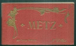 *** 57 ***  Carnet  METZ   Complet Excellent état  24 Cartes  Pour La Civette Complet - Metz
