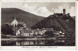 BEILSTEIN AN DER MOSEL MIT DER RUINE METTERNICH-HAUS LIPMANN-WEINBRAU - Cochem