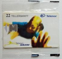 N 130 Telenor Lekene , Unused In Blister - Norway