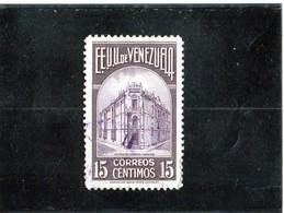 B - 1938 Venezuela - Palazzo Delle Poste - Venezuela