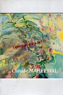 92- SAINT CLOUD- CATALOGUE EXPOSITION  1990 CLAUDE MARECHAL PEINTRE AQUARELLE-AQUARELLISTE-  PARIS GALERIE DU SENAT - Acquarelli