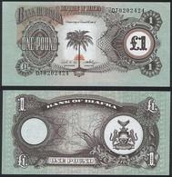 Biafra P 5 A - 1 Pound 1968 1969 - UNC - Banconote
