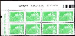 France Coin Daté N° 4229 ** Marianne De Beaujard Gommé Du TVP Vert Sur TD 215B  Du 27.02.2008 - 2000-2009