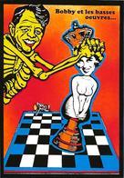 CPM échecs Chess Robert Kennedy Marilyn Jihel Tirage Signé 30 Exemplaires Numérotés Signés - Chess