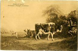 BRASCASSAT  Paysages Et Amimaux  Vaches  Et Chiens  Louvre  Pour Penne  Teramo - Paintings