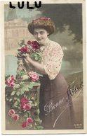 FEMMES 490 : Bonne Année 1915 , Un Château En Décor édit. G B A 543 - Femmes