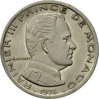 Monnaie, Monaco, Rainier III, Franc, 1974, TTB, Nickel, KM:140, Gadoury:150 - Monaco