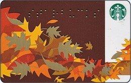 STATI UNITI GIFT CARD STARBUCKS  Autumn - US-STARB-6069-2011-1 - Gift Cards