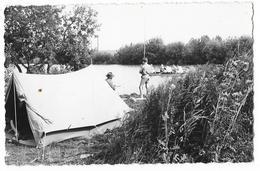 Cpsm: 62 SAINT OMER - Les Marais (Campement Scout ?)  1955  N° 82  (rare) - Saint Omer