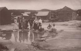 Whakarewarewa New Zealand, Laundry Hole  C1900s Vintage John Hay Nelson NZ Postcard - Nouvelle-Zélande