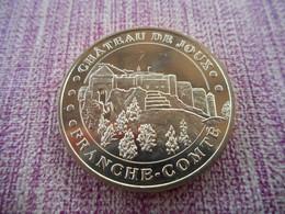 Médaille Franche Comté Chateau De Joux 2014 - Monnaie De Paris