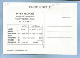 Villiers-Le-Bel (95) Intermarché Avenue Des Entrepreneurs 2 Scans Par Etienne Quentin Caricature Mousquetaire(s) - Villiers Le Bel