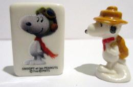 Fèves Brillantes - Snoopy X 2 - FOX Et UFS - Personnages