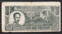 518-Vietnam, Billet De 5 Dong 1948 Z00379 - Vietnam