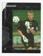 Collectible Soccer Player Image (13x10cm) * Nº55 * Sporting C. P. * Schmeichel * Paper Glued Top Left - Other