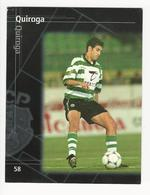Collectible Soccer Player Image (13x10cm) * Nº58 * Sporting C. P. * Quiroga - Other