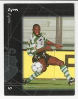 Collectible Soccer Player Image (13x10cm) * Nº69 * Sporting C. P. * Ayew - Other