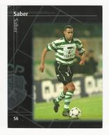 Collectible Soccer Player Image (13x10cm) * Nº56 * Sporting C. P. * Saber - Other