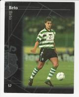 Collectible Soccer Player Image (13x10cm) * Nº57 * Sporting C. P. * Beto - Other